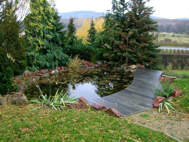 bassin a poisson avec cascade affordable bassin a poisson avec cascade with bassin a poisson. Black Bedroom Furniture Sets. Home Design Ideas